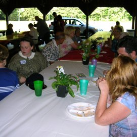 One of the Round Table's legendary summer picnics at Argus Park in Canfield, Ohio. (Image Courtesy Dan Welch)