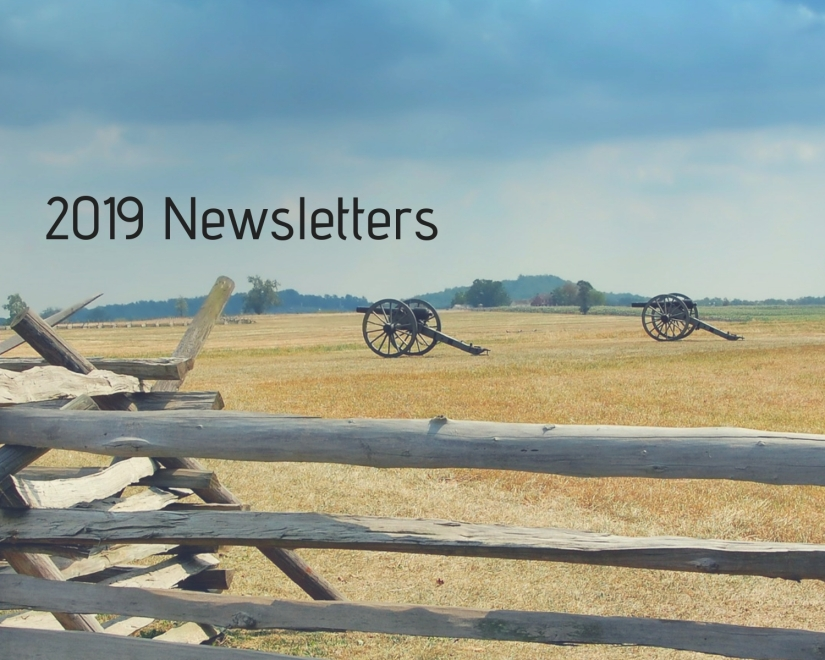 2019 Newsletters