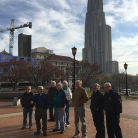Members of the Round Table get a behind-the-scenes tour of Soldiers and Sailors Museum in Pittsburgh, Pennsylvania. (Image Courtesy Gordy Morgan)