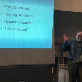 Gettysburg Licensed Battlefield Guide Stuart Dempsey presents a fascinating history of the Union Army's XI Corps during the the war in February 2018. (Image Courtesy Gordy Morgan)
